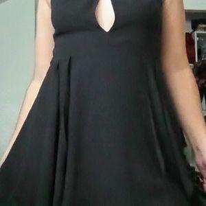 Black Super Cute Bebe dress size 4 like New
